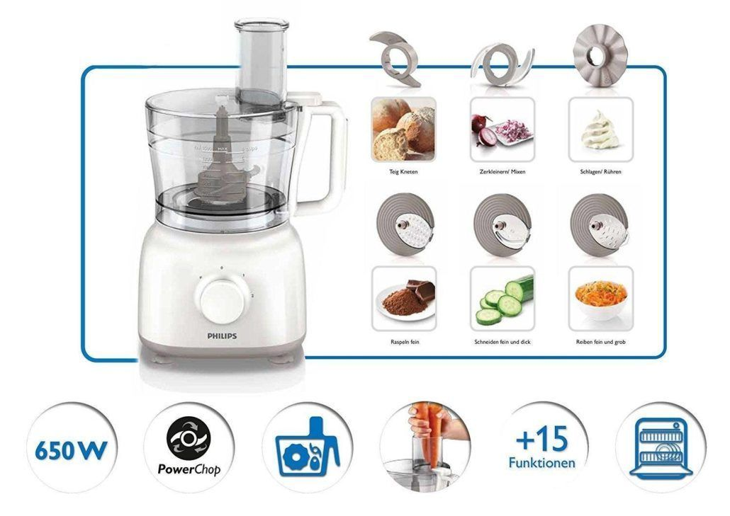 Informationen Philips Food Processor